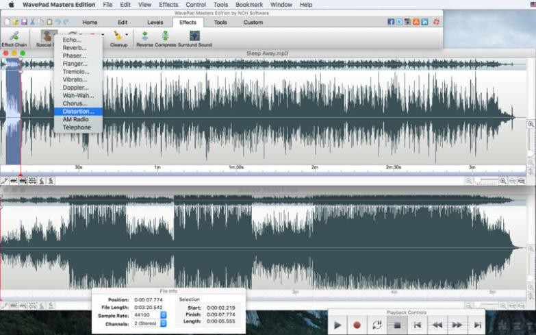 Avepad Masters Edition Audio Editor - My Own Email