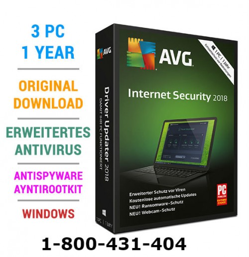 AVG Internet Security is a complete suite for your web security. In AVG Internet Security 3 pc you can protect your three devices in one subscription. If you want to any queries about AVG Internet Security you call this number 1-800-431-404.  Website https://avg.buyonlineau.com.au/