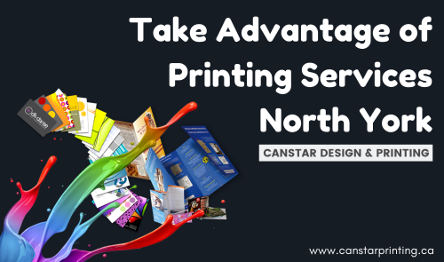 Printing Services North York that includes commercial, educational and scientific areas has become a major industry today.  Get all types of printing services under one roof. for more details read out the article Advantage of Printing Services North York.  https://bit.ly/30mcUgp