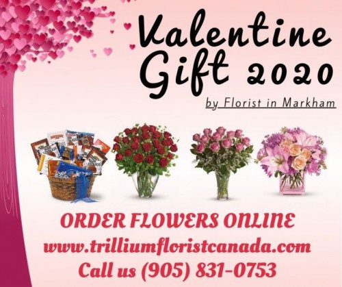 Most people express their love by exchanging valentine gifts, the person with whom they love. Valentines Flowers Ontario is often red or pink and decorated with the shape of hearts, teddy, chocolate, balloons, red roses. They may be in brightly colored, perhaps pink or red, envelopes.Get valentine gifts for him or valentine gifts for her by Best Florist in Mississauga on https://www.trilliumfloristcanada.com/