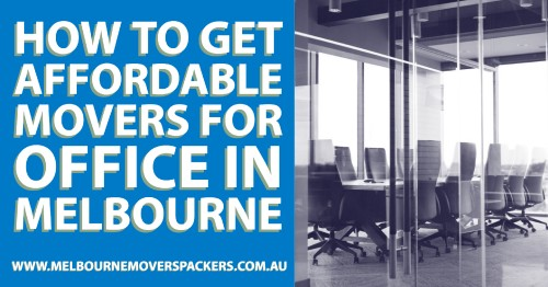 Do you need a removalist service provider to move your office to Melbourne? The movers for office in Melbourne are easy to find but not all reliable.In any case, relocation is costly afire and even risky if not handles properly. As damage will cost you even more. Now, how to get a good mover for your office in Melbourne, who can take away all your stress and is skilled enough to do a damage-free service on time.As all these are discussed in many places, here are some new tips on how to get a good mover for office in Melbourne:  https://www.melbournemoverspackers.com.au/how-to-get-affordable-movers-for-office-in-melbourne/