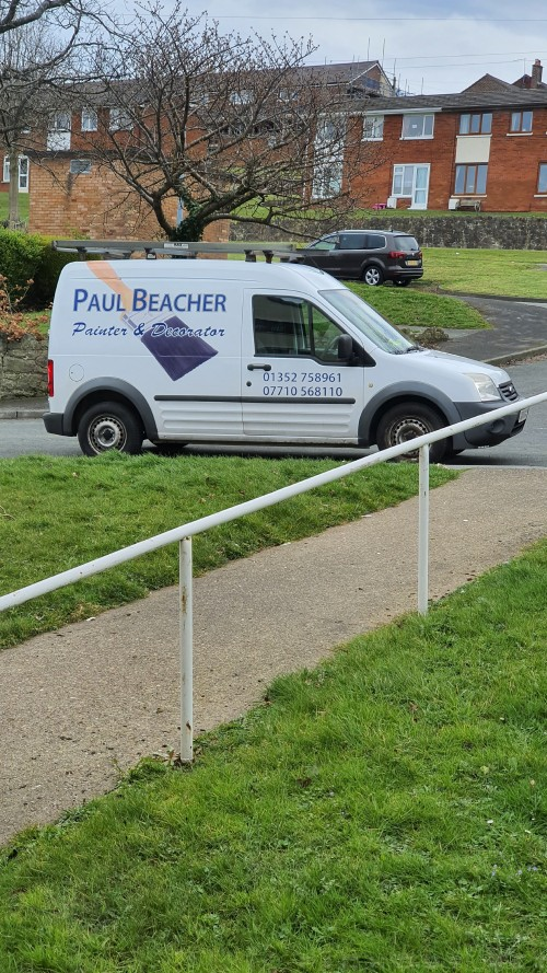 Paul Beacher - Painter & Decorator ( North Wales, UK)  Tel: 01352 758961 Mob: 07710 568110