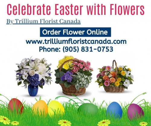 Easter is right next corner this Sunday, 12 April of this year 2020. You can't send Easter eggs - so send a fresh bouquet of Easter flowers instead! Trillium Florist, Inc. has the best and brightest flowers for Easter. We can deliver same-day flower delivery to Pickering, Whitby, Markham, Mississauga, and Toronto. For more detail visit www.trilliumfloristcanada.com
