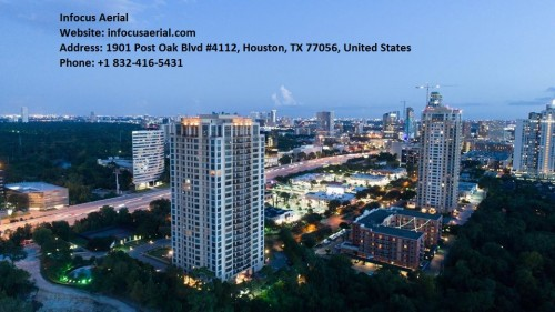 Aerial photographer in Houston, Texas
