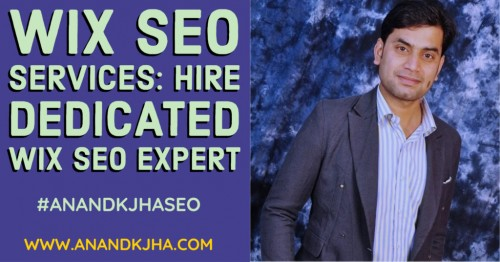 Today, there are numerous website development platforms available and Wix is one of the most recognized names. Are you looking for a SEO expert for your WIX website? Here, we will know about the Wix website and its SEO services in detail to know whether it is suitable for your business. Visit here..  https://www.anandkjha.com/wix-seo/