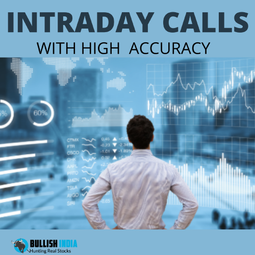 Get latest Indian share tips and intraday  calls only on Bullish India Our Sebi Registered stock analysts guide you and provide you the most accurate calls. https://www.bullishindia.com/intradaycalls