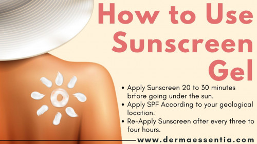 In India, we all experience summer and heat that burned your skin and make you look darker. Maybe you are applying Sunscreen Gel, but are you applying it correctly? #Sunscreen #SunscreenGel #SkinCare #SunProtection