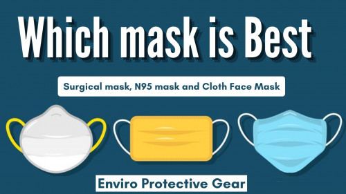 Get to know which is the best Face Mask according to your surrounding and work within Surgical mask, N95 mask and Cloth Face Mask. To know more read This Article https://enviroprotectivegear.blogspot.com/2020/09/which-face-mask-is-best.html #Surgicalmask #N95mask #ClothFaceMask #BestFaceMask #BestMask