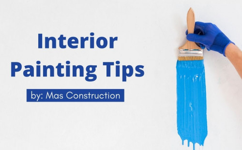 Do you want to change your home interior colors? Here are some interior painting tips by Mas Construction that will make the task faster, smoother, and clear. For detailed info read the article www.mascons.ca/blogs/interior-painting-tips