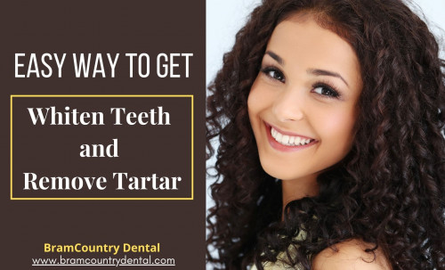 To prevent the appearance of tartar, limit the development of dental problems, and maintain the whiteness of your teeth, it is necessary to have good oral hygiene. let's read the article Easy Way to Get Whiten Teeth and Remove Tartar by Dentist in Brampton. https://bramcountrydental.tumblr.com/