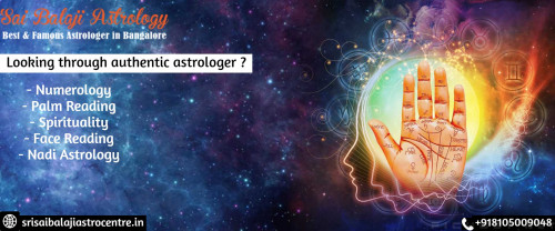 Srisaibalajiastrocentre Best Astrologer in Bangalore promotes 100% relief from all your life problems. 100% Remedies. Trusted services with decades of expertised exprience. Get Instant Solution For All Your Business, Family, Love & Marriage Problems! On Time Work Guaranteed. 100% Client Satisfaction. Lowest Fees compared to others. Website: http://www.srisaibalajiastrocentre.in/