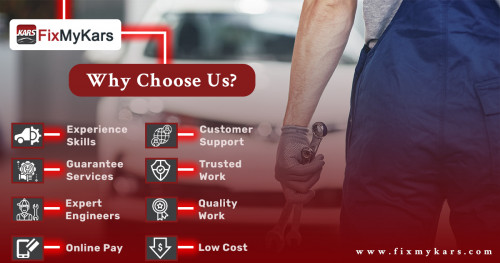 Why Choose Us?  Fixmykars - Expert Car Repair and Services in Bangalore, proudly offers Bangalore's top Car service with years of work experience skills. Our friendly Expert Engineers provide guaranteed services with quality work. Drive your car or Call us for hassle-free Doorstep services. Quality spare parts used. Call us for instant support.  Call us: +91 7090009537, +91 9886188647 Visit: http://www.fixmykars.com/