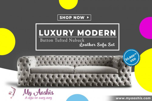 Luxury modern sofas. Order your pick today.