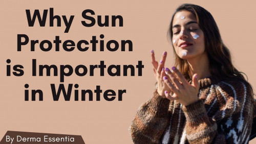We all must protect ourselves from the sun's harmful rays because it can cause many skin problems. Although the sun is sometimes less visible in winter, it is still present. Sun protection is therefore always in order if you step outside! To know more about the best way of skin protection, Click here to read more: https://derma-essentia.blogspot.com/2020/11/sun-protection-in-winter.html  #skincareroutine #beauty #moisturizer #sunprotection #Sunscreen