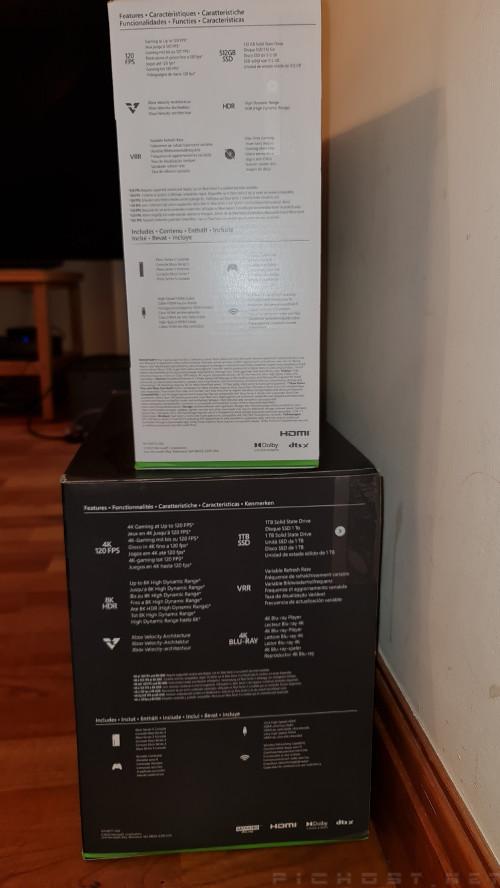 Microsoft Xbox Series X/S : Box