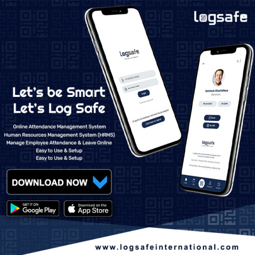 LogSafeInternation Online Attendance Management System provides real-time integration with all attendance devices like Biometric, Smart card, and facial recognition devices. Features included in an HRMS Attendance play a huge role in simplifying time and attendance tracking. It offers you 100% visibility of employee working hours, eliminates missed punches, and streamline attendance tracking.  https://logsafeinternational.com/