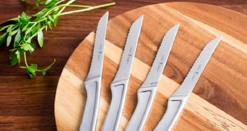 Getyourknives.com is regularly updated with the latest product reviews. One of our latest reviews covers the Henckel's steak knives set. Our blog provides an in depth review of Henckels international 2X steak knife set including our own ratings and evaluation. Come visit getyourknives.com for a range of products dedicated to steak lovers.  https://getyourknives.com/henckels-2x-steak-knife-set-review/