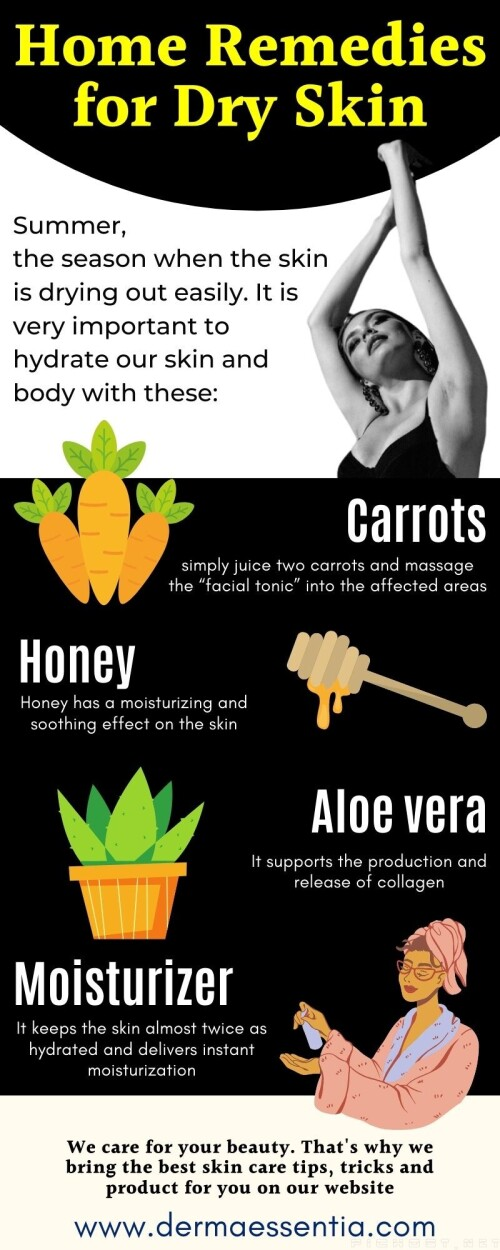 Summer makes our skin dry and which can cause many skin problems. So it is important to hydrate your skin and make it beautiful. Here are the best Home Remedies for Dry Skin.  Aloe vera Carrots Marigold Honey  Click here to read more about it Home Remedies for Dry Skin: https://bit.ly/3cWVlM6  #SkinCare #HealthySkin #DrySkin