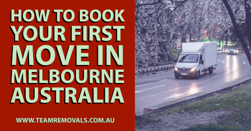 Moving to Melbourne can be a big step and lifestyle change. On the upside, you might get a better environment, less disturbing neighbors, and a lot of peace. On the downside, relocation is associated with a lot of hard work that can ruin your excitement. Thankfully, there are reliable movers in Melbourne, who can deliver top-notch service at an affordable price. Also, we have come up with these tips for moving into a new house so you don't have to worry about the nitty-gritty and focus on other responsibilities. So, without any further ado, let's explain how to book your first move to Melbourne Australia.  https://www.teamremovals.com.au/how-to-book-your-first-move-in-melbourne-australia/