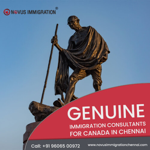 Novus Immigration Chennai, one of today's leading Immigration & visa consultants of Chennai. Novus Immigration Chennai team works with a simple motto, i.e., to cater professional, authentic and reliable visa processing services to skilled workers of India and Canada who are keen to settle, work or study in Canada.  Website: https://www.novusimmigrationchennai.com/