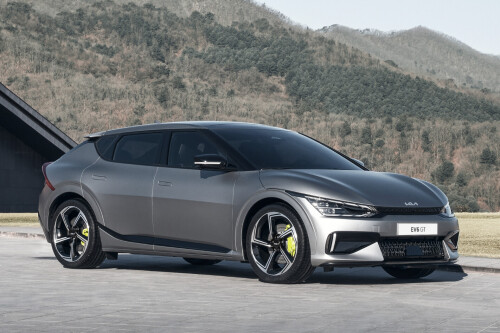 Talking points  EV6 starts from £40,895 (AU$73,500) in UK Addition of EV6 GT-Line S variant UK customers reportedly taking EV6 deliveries from October 2021 Aussies will have to wait until 2022 for deliveries to begin, due to ADR compliance and local ride and handling program The 2022 Kia EV6 has gone on sale for the UK market, and it's clear the Korean automaker is aiming its new EV to compete with Tesla and its popular Model 3.   As WhichCar previously reported, the electrifying EV6 will come in three different guises from launch – EV6, EV6 GT-Line, and EV6 GT.  For Britain, however, there will also be an EV6 GT-Line S variant, that will sit above the GT-Line but below the range-topping, hi-po GT.   The base EV6 in rear-wheel drive form will start from £40,895 (AU$73,500) and come equipped with standard features such as 19-inch diamond-cut alloy wheels, LED daytime running lights, headlights, and taillights, black vegan leather upholstery, ambient lighting, heated front seats, heated steering wheel, and dual-zone climate control.   Standard safety features include highway driving assist, as well as forward collision-avoidance assist with pedestrian, cyclist, and junction-turning functionality.  The price of the higher-spec EV6 GT-Line will start from £43,895 (AU$78,700) for the RWD variant and £47,395 (AU$85,000) in all-wheel drive guise.   Building on the standard kit of the entry-level EV6, the GT-Line will bring with it; tinted windows, front parking sensors, black suede and light grey vegan leather interior, premium relaxation seats and dual-LED headlamps with adaptive high-beam.  Brushed metal driving pedals, power and memory front seats, vehicle-to-load (V2L) charging, wireless phone charging, and blind-spot monitoring also come as standard.  EV6 GT-Line S models are also available with either the RWD or AWD drivetrain, with the former costing £48,395 (AU$86,000) and the latter costing £51,895 (AU$93,000).  S models benefit from improvements such as 20-inch w