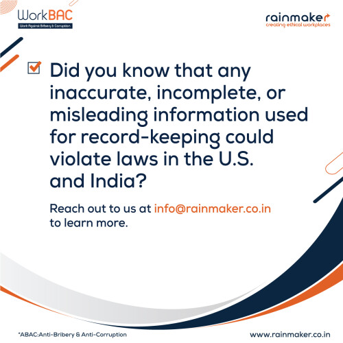 Corruption is not a new issue which we are facing. This problem has been hampering the development of our country for years. Corruption is prevalent at all stages, in every aspect -big or small.  https://rainmaker.co.in/workbac/