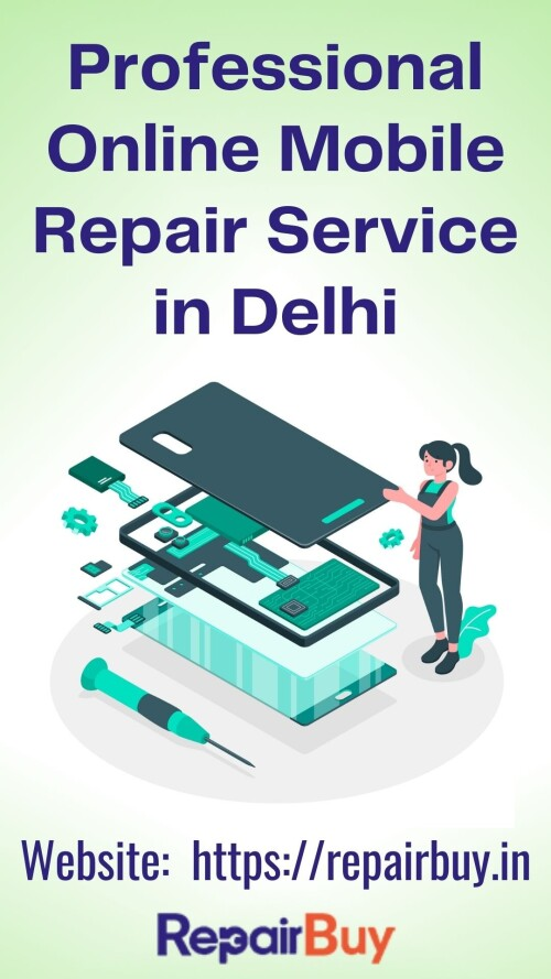 RepairBuy offers the best Online Mobile Repair services without spending too much money. We do not sell items to you. Instead, we aim to please you with our reliable mobile repair home service in Delhi. Our platform is the perfect place to request phone repairs and hassle-free efficiently.  NCR services include many replacements for mobile screens, batteries, microphones, receivers, speakers, and jacks. Our technicians will repair your device right in front of you at an affordable price.  Contact Details  Mobile no: +91 8860062002 Website: https://repairbuy.in/