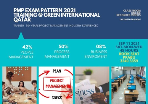PMP certificate in Qatar can help you realize that you are an expert in the project the executives and can undoubtedly deal with their activities that can procure the proprietors many benefits.  Website : https://www.greenmtc-intl.com/course-schedule-/pmp-certification-training-project-management-courses-in-qatar/