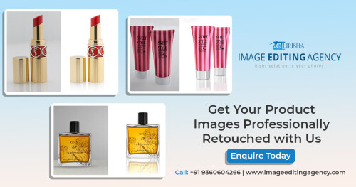 Get Your Product Images Professionally Retouched with Lirisha Image Editing Agency. Best-in-class services. Product Retouching Made Easy & Great Quality. When Imagination & Innovation Come Together, Anything's Possible.  Enquire Now at (+91) 9360604266  More Info: https://www.imageeditingagency.com/  Product Photo Editing: https://www.imageeditingagency.com/ecommerce-photo-editing-services.html